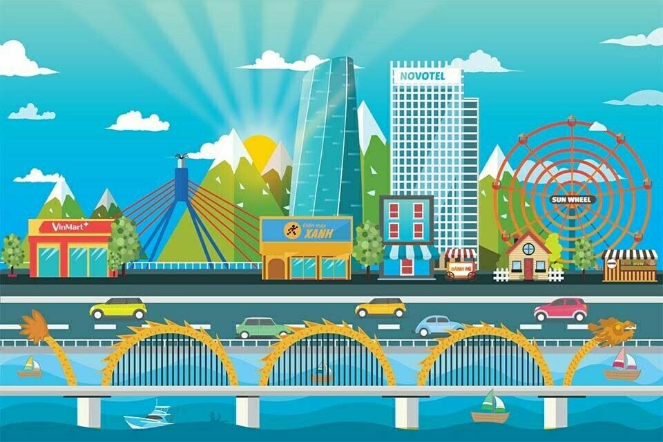 Bai ve phong canh lop adobe illustrator tai da nang (3)