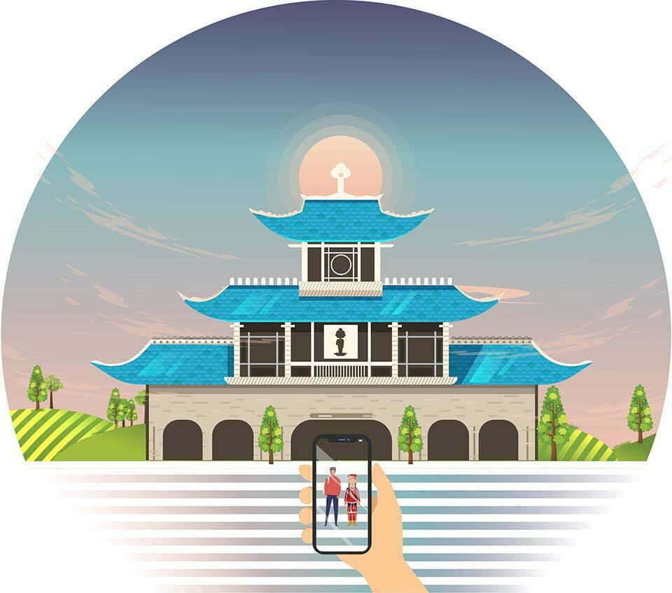 Bai ve phong canh lop adobe illustrator tai da nang (5)