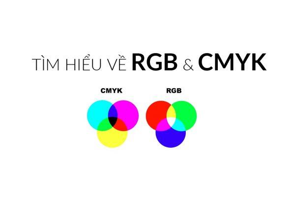 Tìm hiểu về hệ màu RGB và CMYK