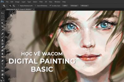 Khóa học vẽ digital painting cơ bản tại đà nẵng