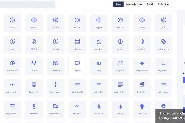 10 nguồn tải icon cực xịn dành cho UX/UI design ( Phần 1 )