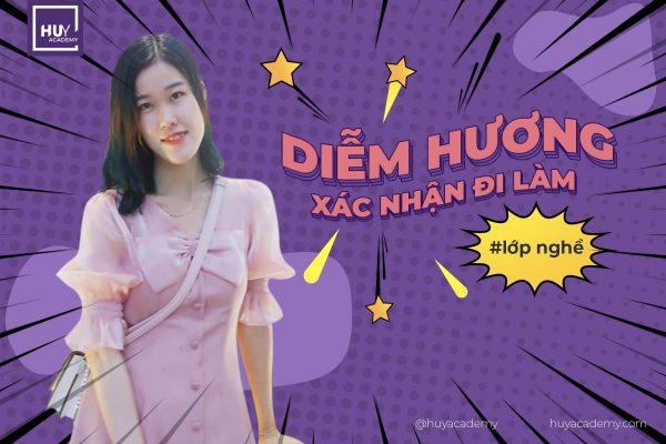 Diễm Hương – Cô học viên nhỏ của lớp thiết kế đồ họa