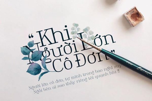 Tổng hợp font việt hóa LNTH