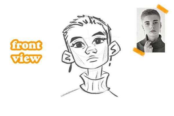 Hướng dẫn vẽ khuôn mặt hoạt hình