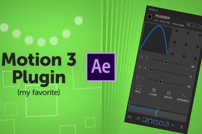 Motion v3 plugin full crack dành cho After Effects