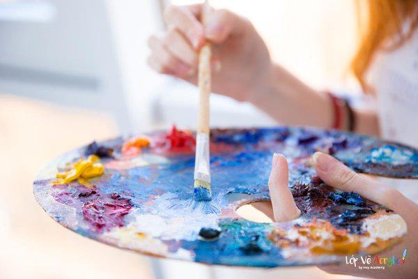 Địa điểm mua màu sơn acrylic, họa cụ vẽ Đà Nẵng